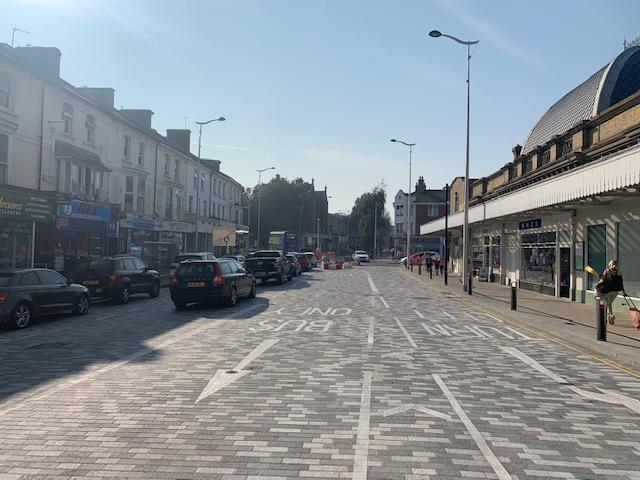 Eastbourne Town Centre Improvement Scheme, MIldren Construction Ltd
